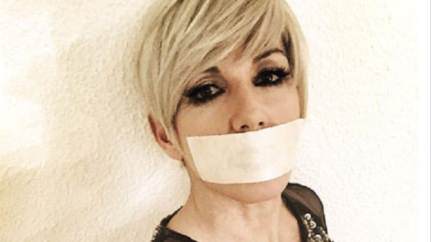 La cantante Ana Torroja, en una foto para la campaña 'Un día sin música'