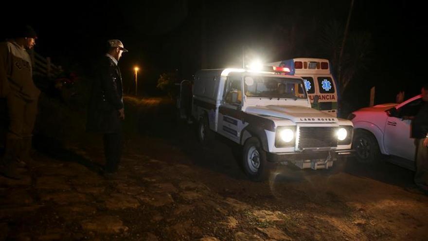 El helicóptero hondureño accidentado con seis personas no reportó emergencia