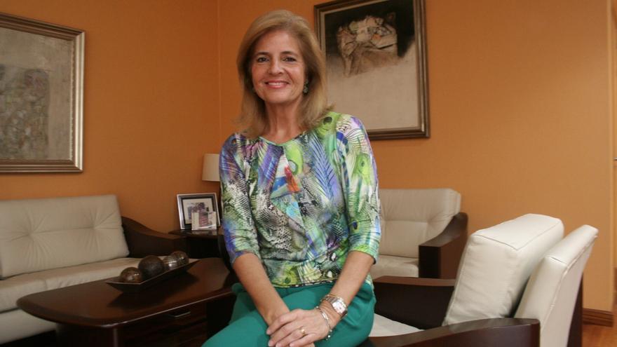 Esperanza Oña, vicepresidenta primera de la Mesa del Parlamento