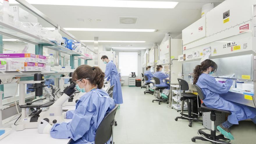 Imatge del laboratori