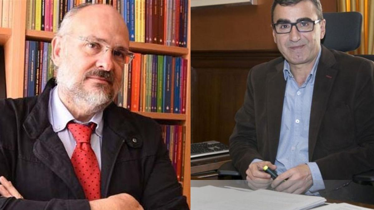 Francisco Pomares y Javier Abreu