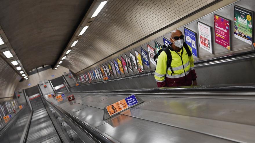 Las mascarillas en el metro de Londres serán obligatorias