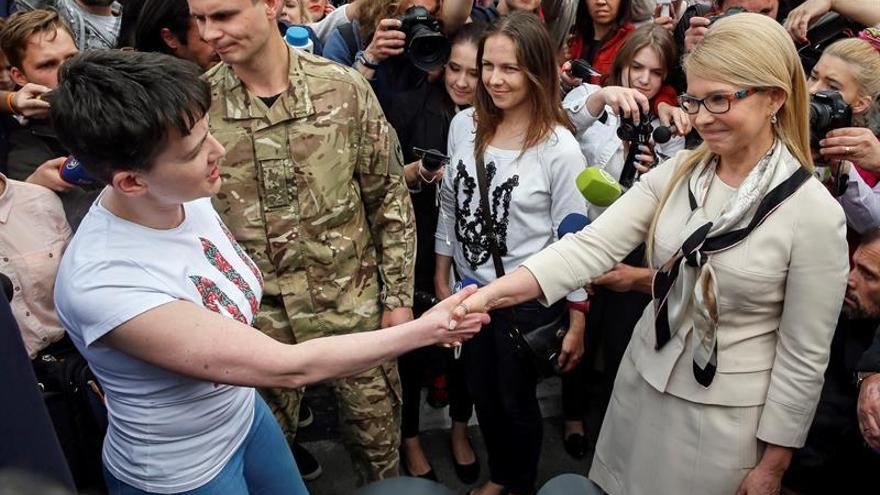 Berlín espera que la liberación de Sávchenko ayude al proceso de Minsk