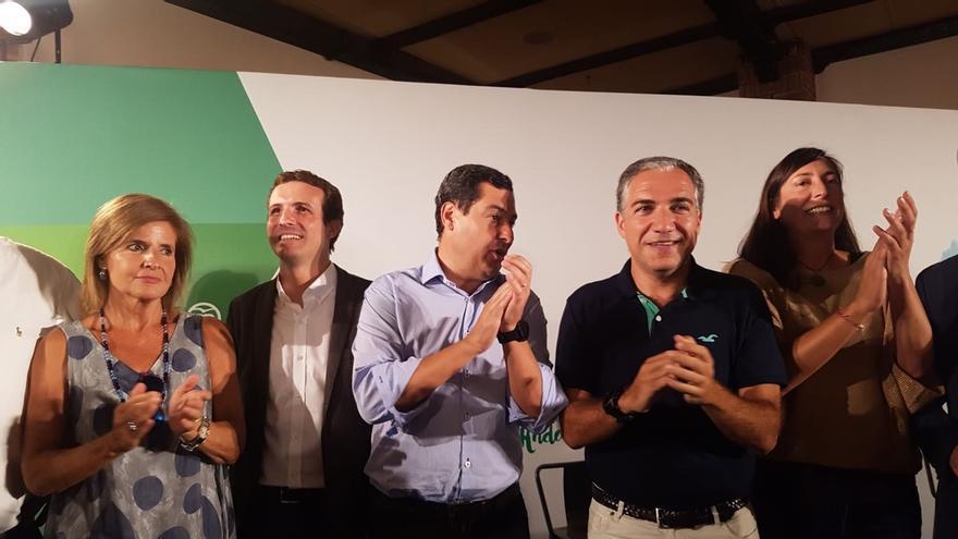 """Casado respalda a Juanma Moreno: """"A ganar y a demostrar que Andalucía se merece un mejor gobierno y un mejor futuro"""""""