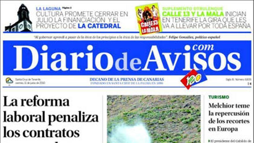 De las portadas del día (11/06/2010) #2
