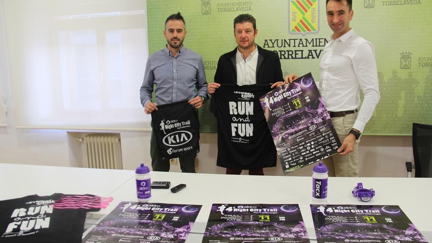 Más de 2.500 deportistas participarán en la IV Edición de la 'Aldro Nigth City Trail'