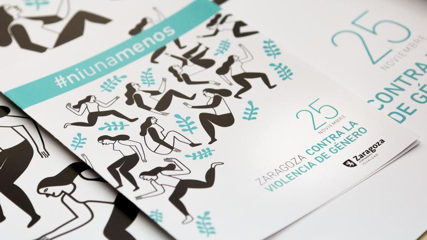 El Ayuntamiento de Zaragoza ha organizado un amplio programa de actividades por el Día Internacional de Eliminación de la Violencia Contra la Mujer.