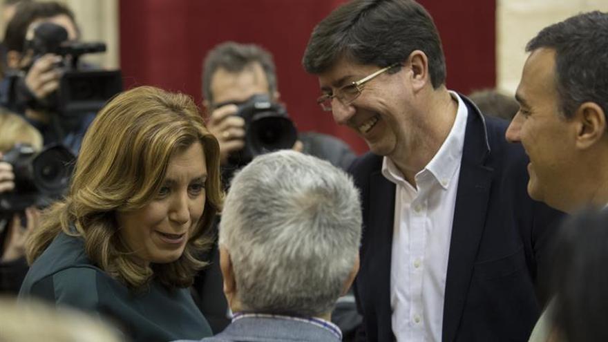 Andalucía aprueba los presupuestos para 2017 con el respaldo del PSOE y C's
