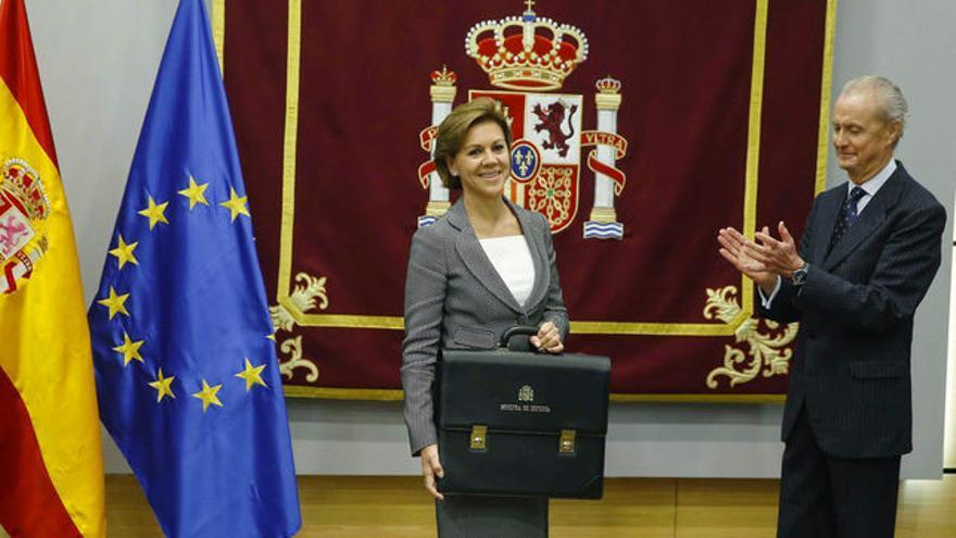 Cospedal y Morenés.