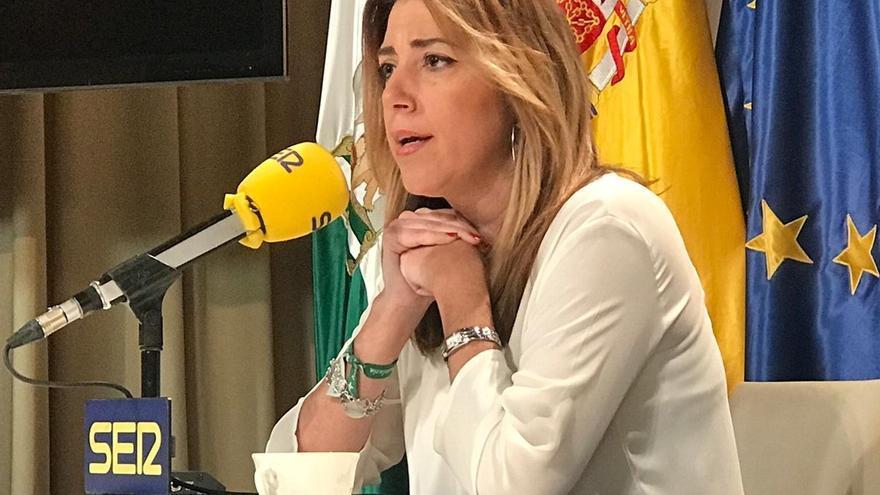 """Susana Díaz afirma que sólo se presentará a la investidura si cuenta con los """"apoyos suficientes"""""""