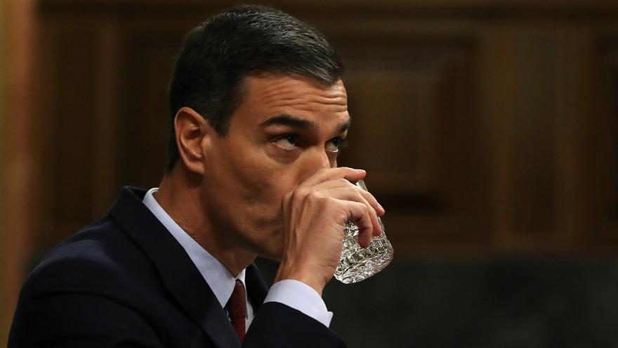 """Pedro Sánchez pide en su discurso de investidura desbloquear una RTVE """"sumida en la interinidad"""""""