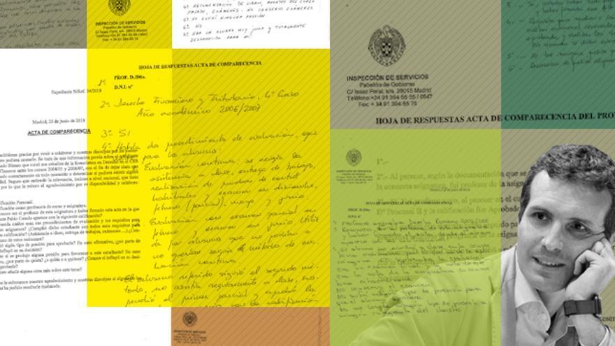 La UCM registró once comparecencias de docentes de Pablo Casado