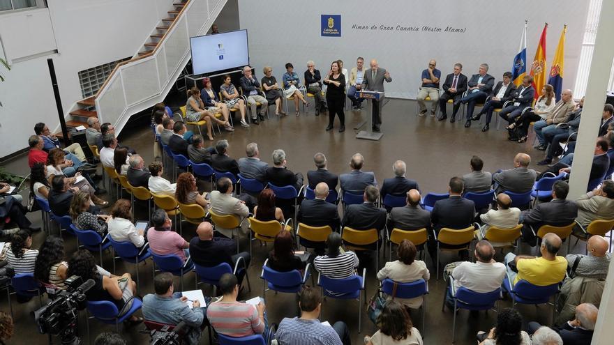 El Cabildo de Gran Canaria hace balance de su primer año de gobierno