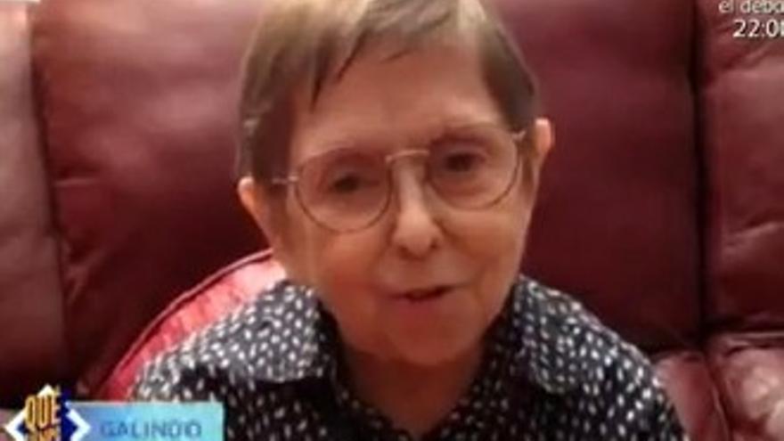 Galindo reapareció con María Teresa Campos, 11 años después de 'Crónicas Marcianas'