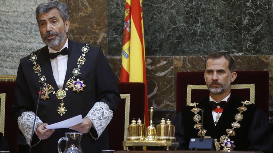 Lesmes: el actual modelo de Consejo de Poder Judicial no politiza la Justicia