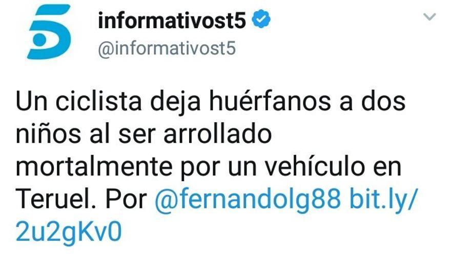 Tuit de Telecinco