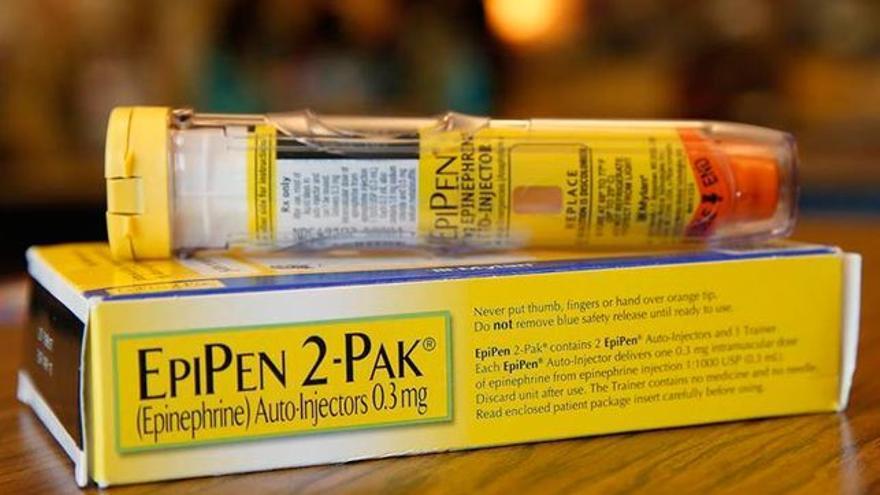 Pack de inyectores de epinefrina de EpiPen