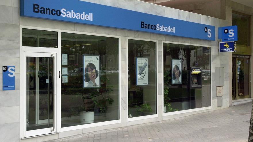 El Banco Sabadell gana un 5,12 %, el valor que más sube del IBEX
