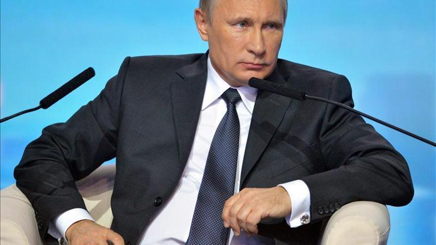 Putin afirma que a Occidente no le gusta una Rusia fuerte que defiende sus intereses