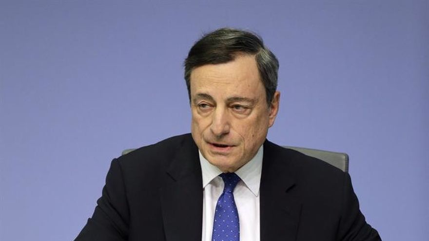 El BCE prevé un crecimiento del 1,8 % este año con una inflación del 1,7 %