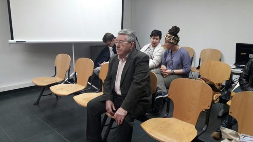 Marceliano Collado durante el juicio / Albacete Capital
