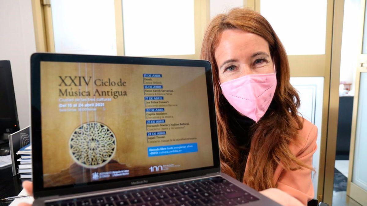 Marián Aguilar presenta el XXIV Ciclo de Música Antigua.