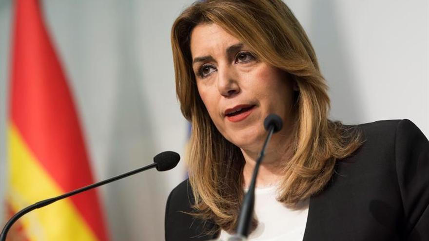 """Susana Díaz analizará con Picardo el impacto del """"brexit"""" en Andalucía"""