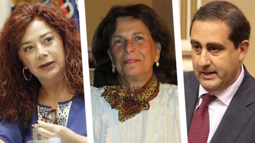 Beatriz Barrera, Milagros Fuentes y Felipe Afonso El Jaber