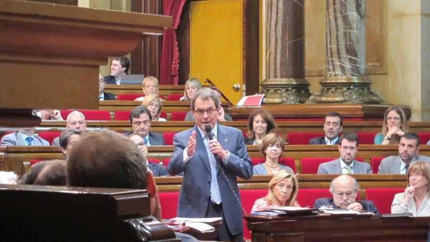ICV-EUiA y ERC piden que Mas explique en el Parlamento catalán los detalles del Fondo de Liquidez