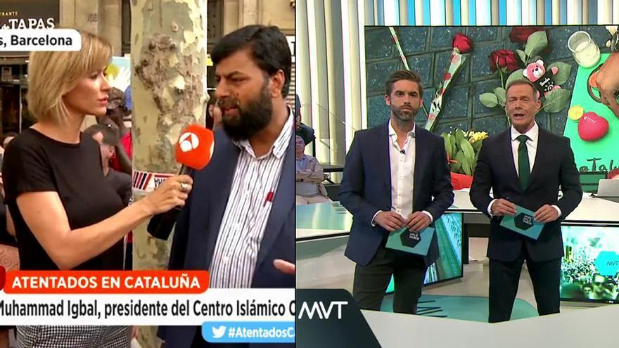 Antena 3 y laSexta, cadenas preferidas el viernes para informarse de los atentados