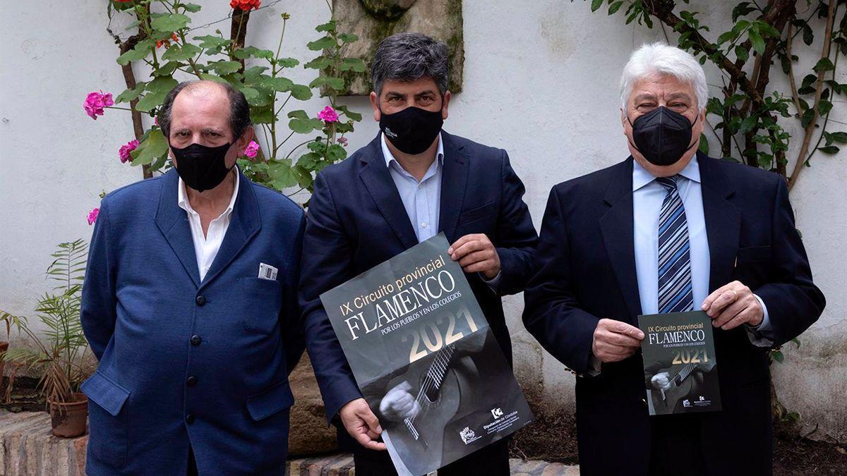 Presentación de la IX edición del Circuito Provincial 'Flamenco por los pueblos'.