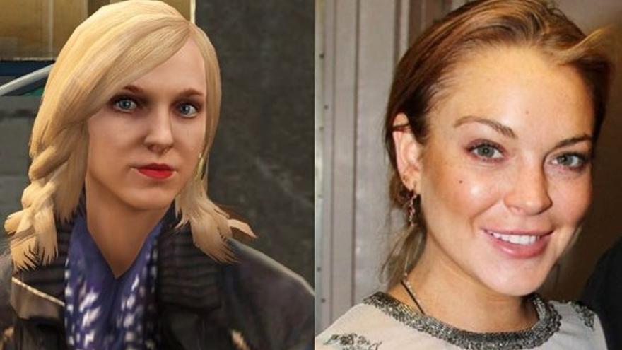Lacey Jonas comparativa Lindsay Lohan