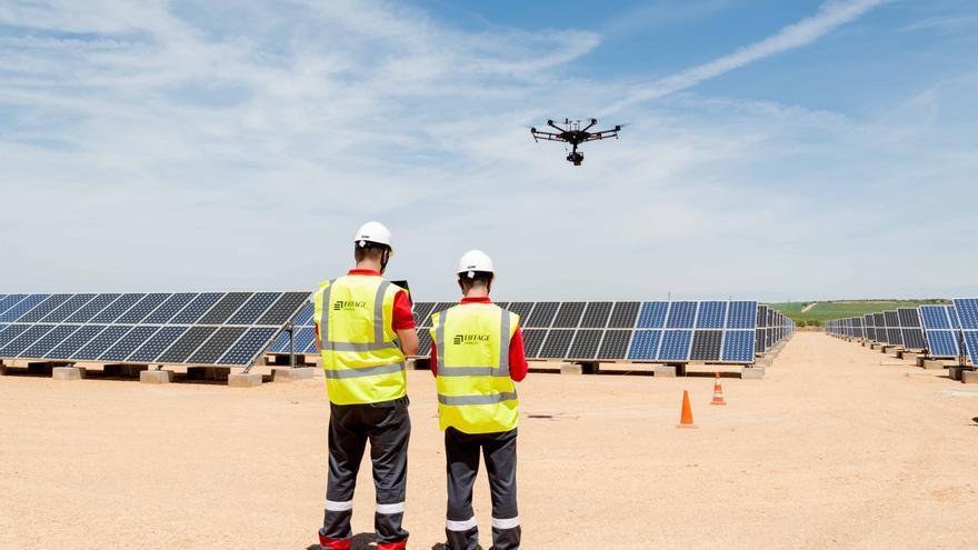 Planta solar fotovoltaica en Pozo Cañada (Albacete)