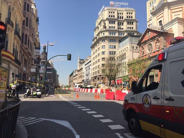 Cordón de seguridad por el escape de gas | Emergencias Madrid
