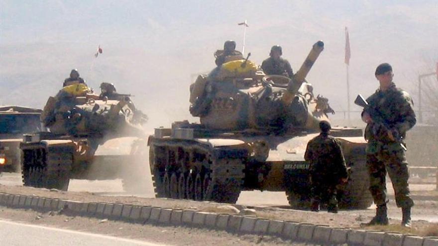 Turquía realiza maniobras militares en la frontera con el Kurdistán iraquí