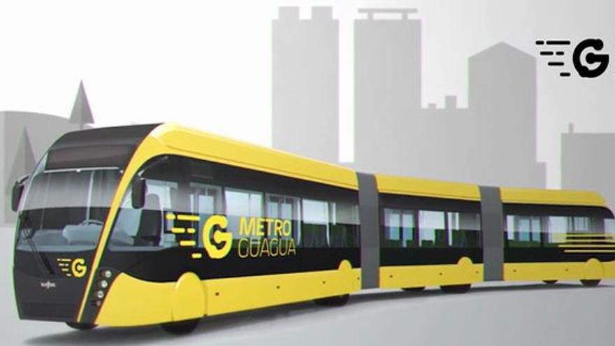 Proyecto de MetroGuagua para Las Palmas de Gran Canaria.