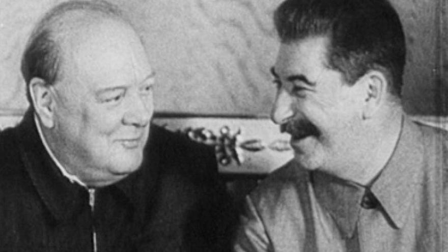 Churchill y Stalin