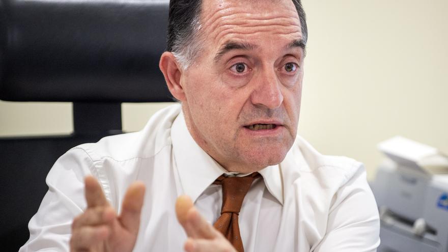 El diputado socialista Artemi Rallo, durante la entrevista con eldiario.es.