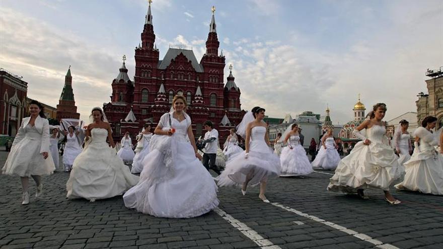 La familia retrocede en Rusia pese a la propaganda tradicionalista