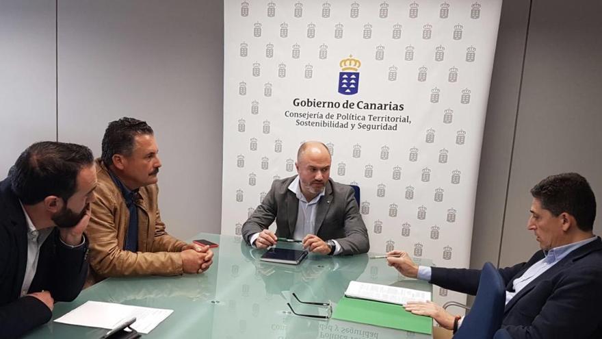 De izquierda a derecha: Marcos Lorenzo, Vicente Rodríguez, Pedro Afonso y Martín Orozco.