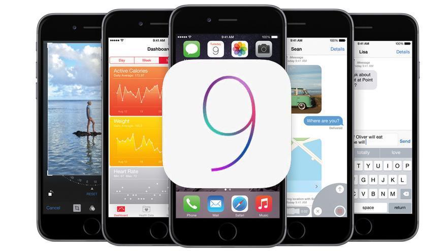 La familia iOS9