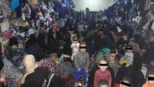 Imágenes de cárceles iraquíes evidencian las condiciones de hacinamiento e insalubridad