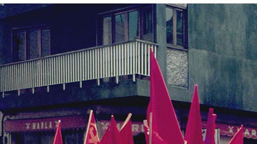 Manifestación promovida por MIRAC PUCC en 1980