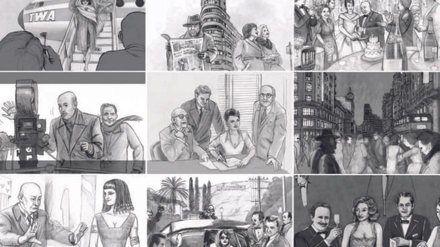 Storyboard de 'La reina de España'