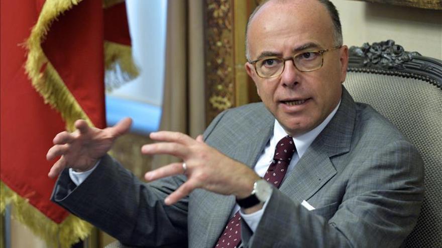 El ministro francés del Interior, Bernard Cazeneuve, en una imagen de archivo.