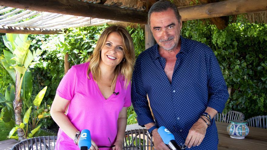 Pilar García Muñiz y Carlos Herrera