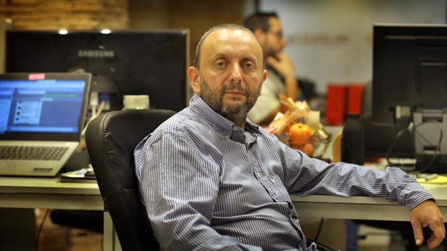 Francesc Arabí, autor del libro 'Ciudadano Zaplana, la construcción de un régimen corrupto'.