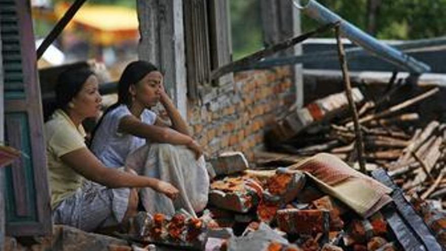 Al menos 3.000 samoanos se han quedado sin hogar por el tsunami