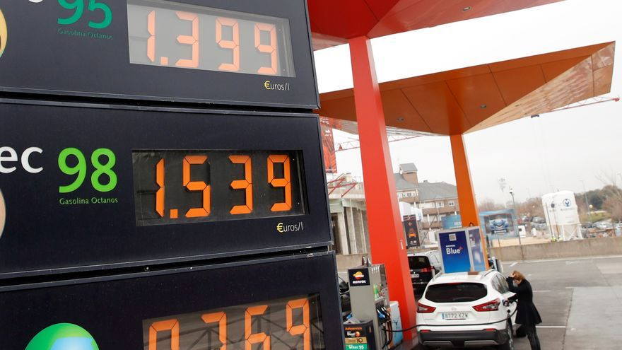 Los carburantes vuelven a subir y la gasolina ya cuesta como en junio de 2019