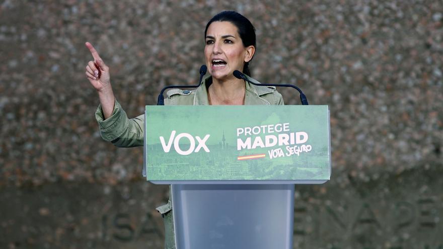 Vox pide el voto para proteger Madrid de las políticas de la izquierda
